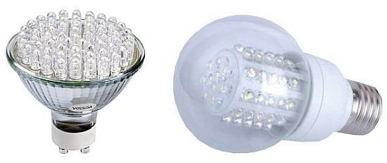 photo d'une ampoule à led