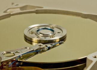 photo d'un disque dur
